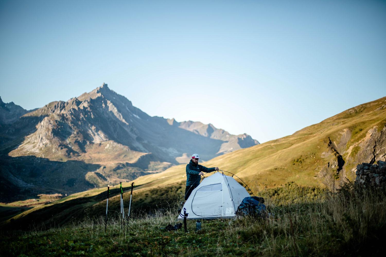bivouac tour du Mont-Blanc blog