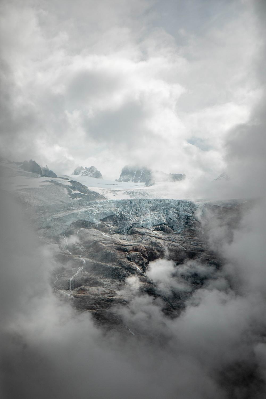 glacier argentière vallée de Chamonix