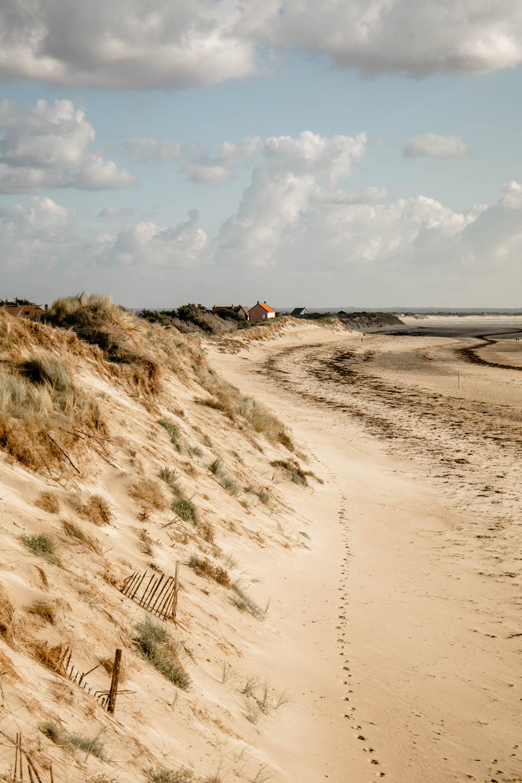 la côte des havres du Cotentin, étape GR 223