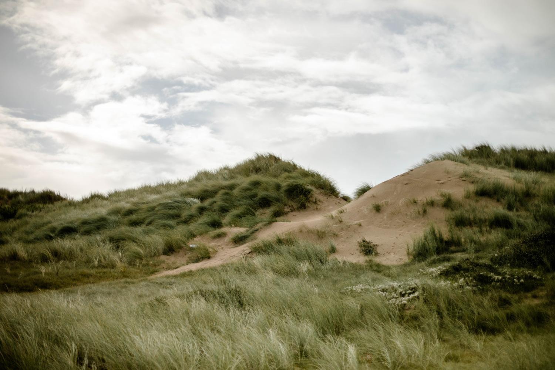 paysage dunaire côte des isles