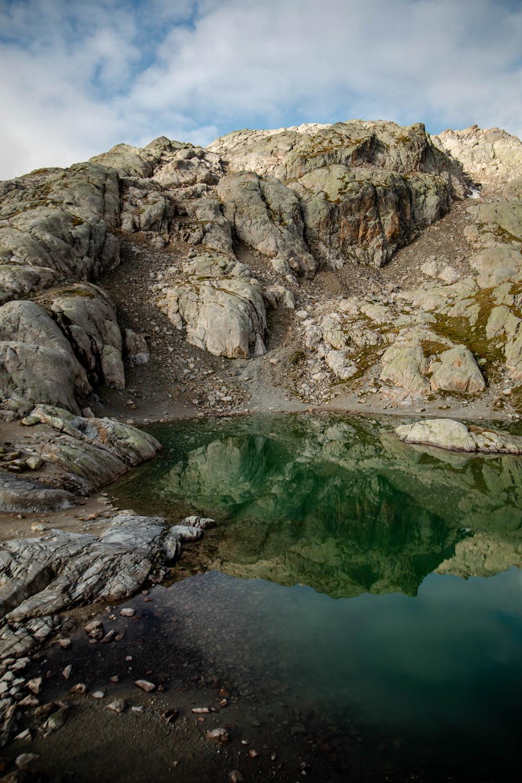 randonner au lac blanc Chamonix