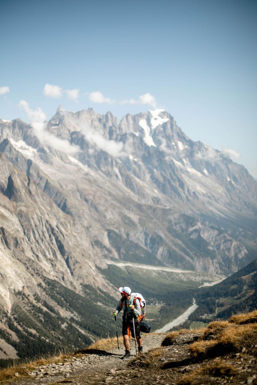 randonner autour du Mont-Blanc coté italien