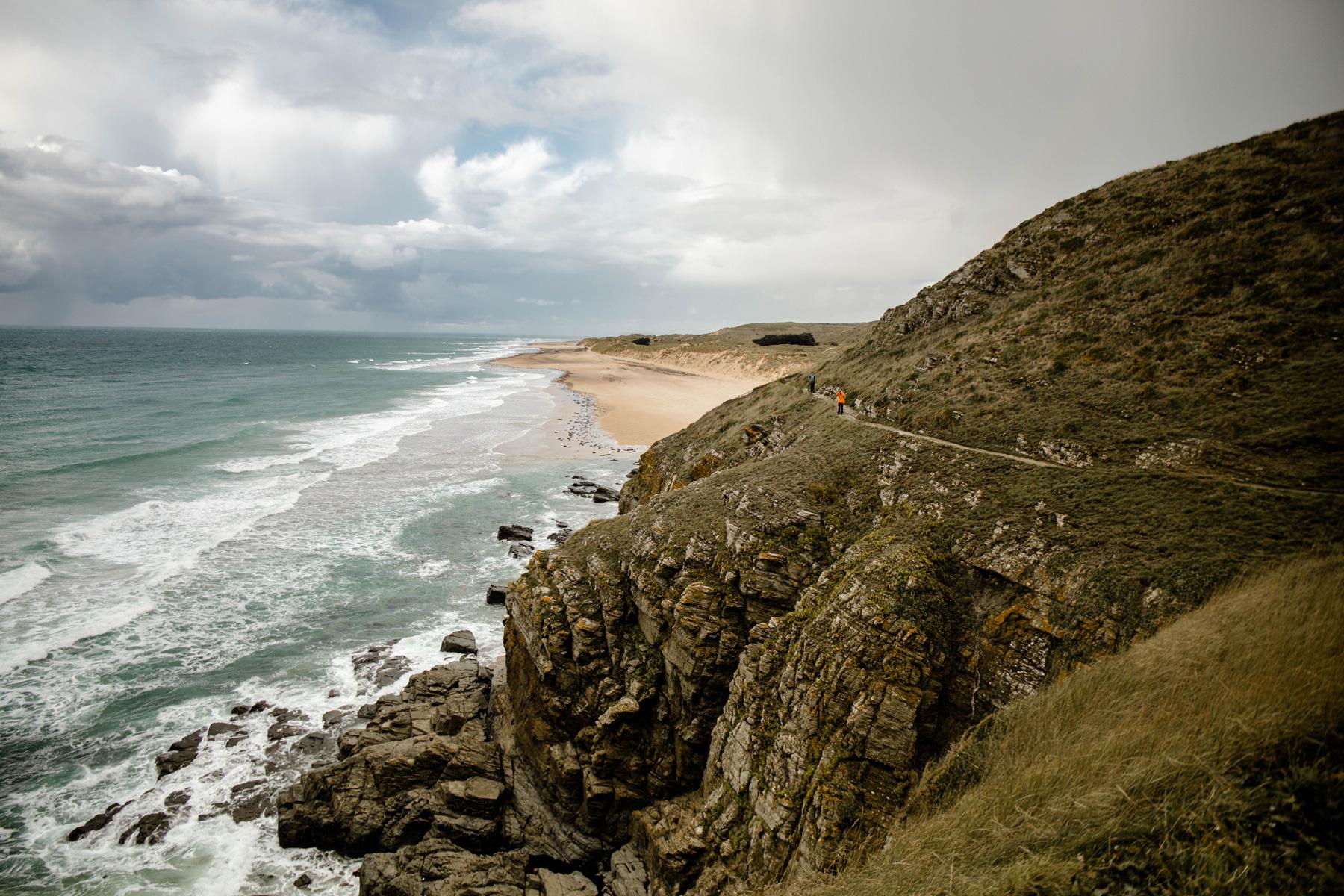randonner sur le Cap Carteret dans le Cotentin (GR 223)