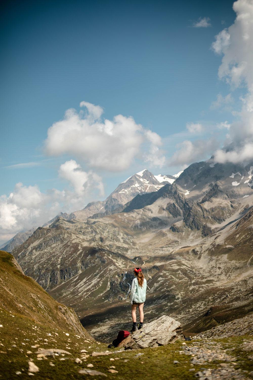 tour du Mont-Blanc col du bonhomme