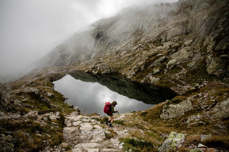 tour du mont blanc étape lac blanc