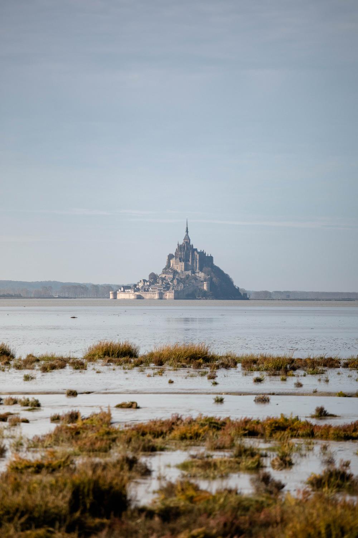 atteindre le Mont-Saint-Michel après 14 jours de marche