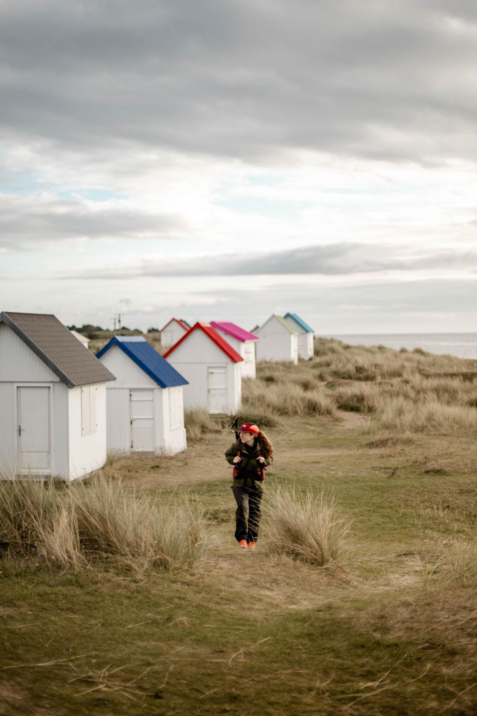 cabanes de Gouville-sur-Mer Cotentin