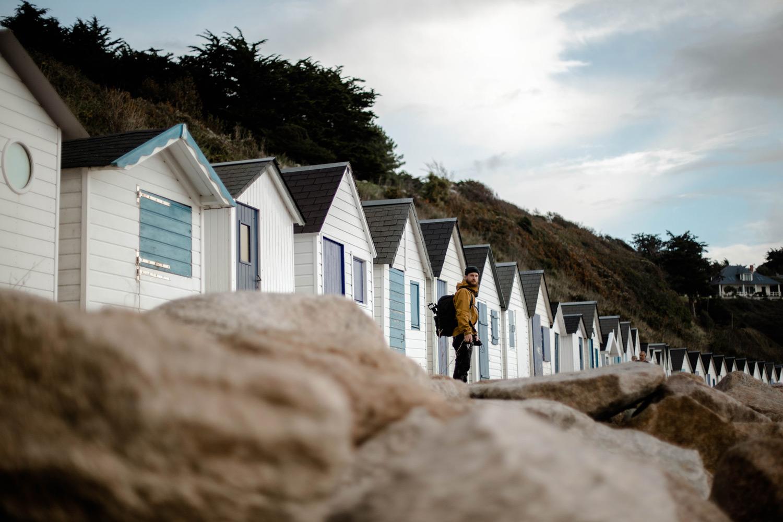 cabines de plage de Barneville-Carteret