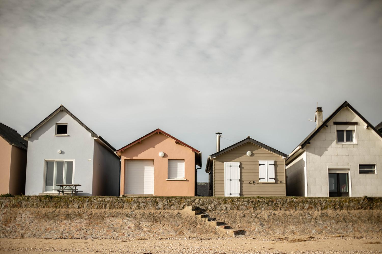 cabines Ravenoville à voir dans le Cotentin
