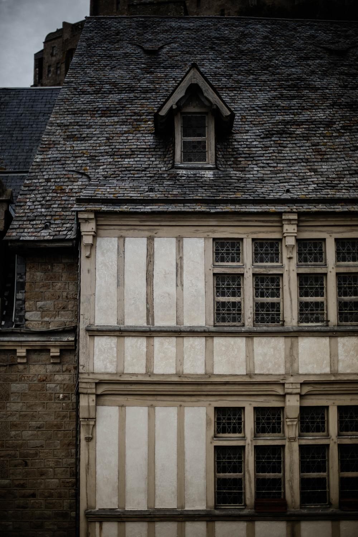 détail architecture Mont-Saint-Michel