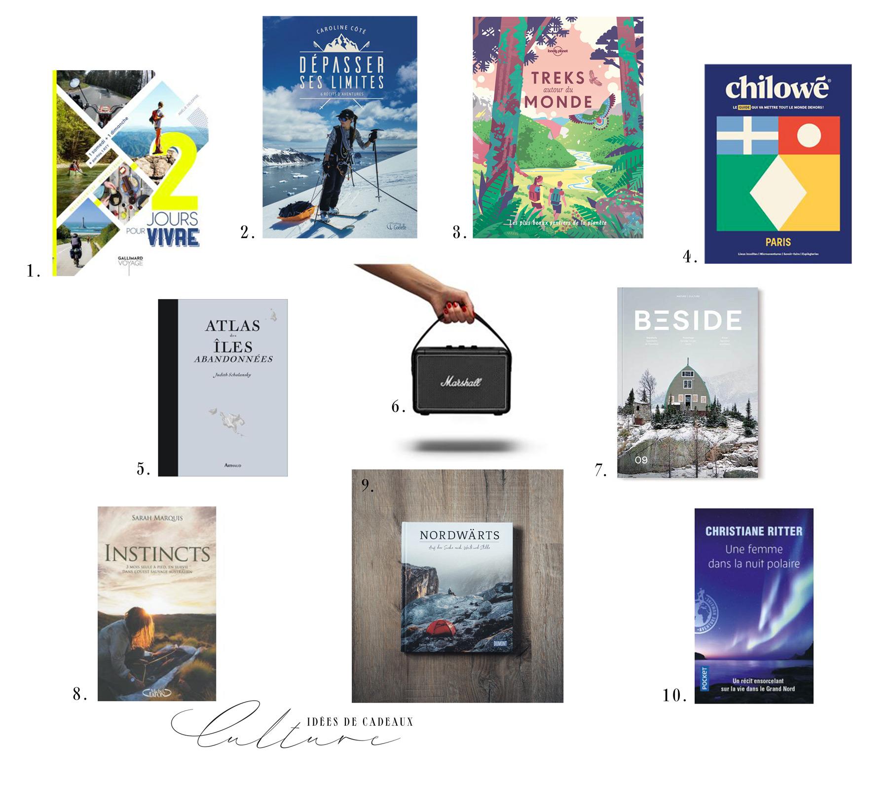 idées cadeaux voyage femme sélection livres