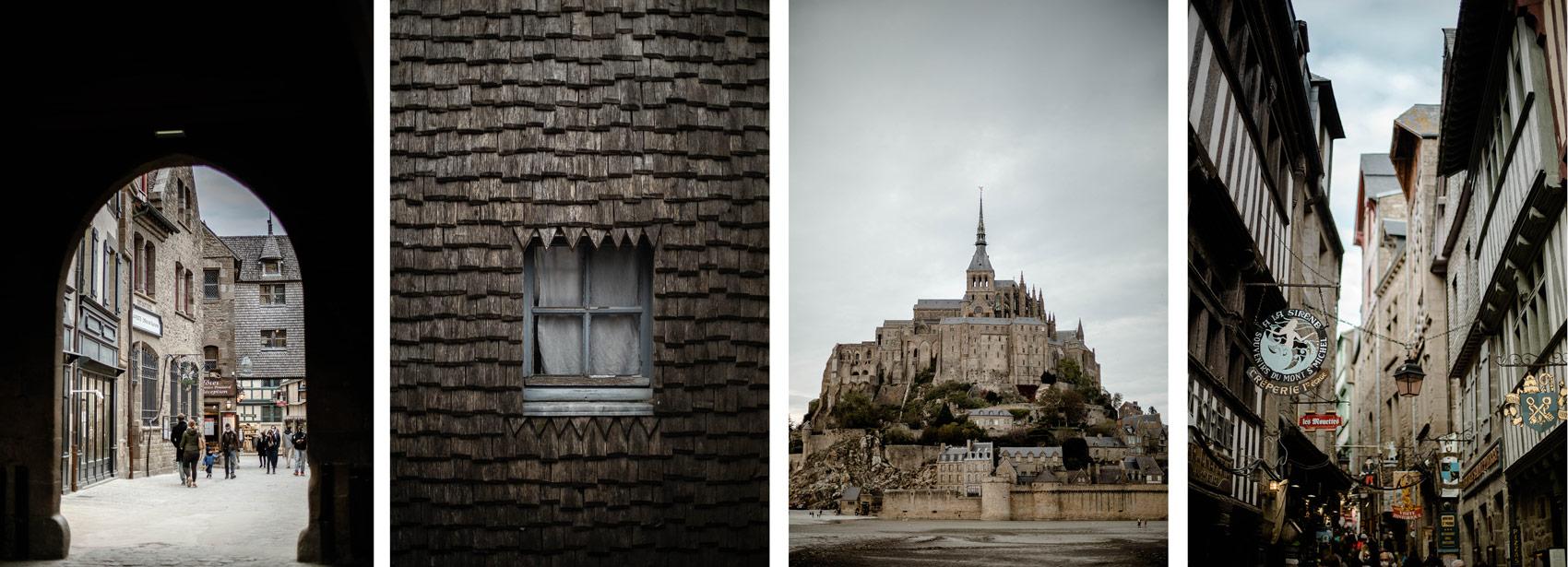 photo du Mont-Saint-Michel fin du GR 223