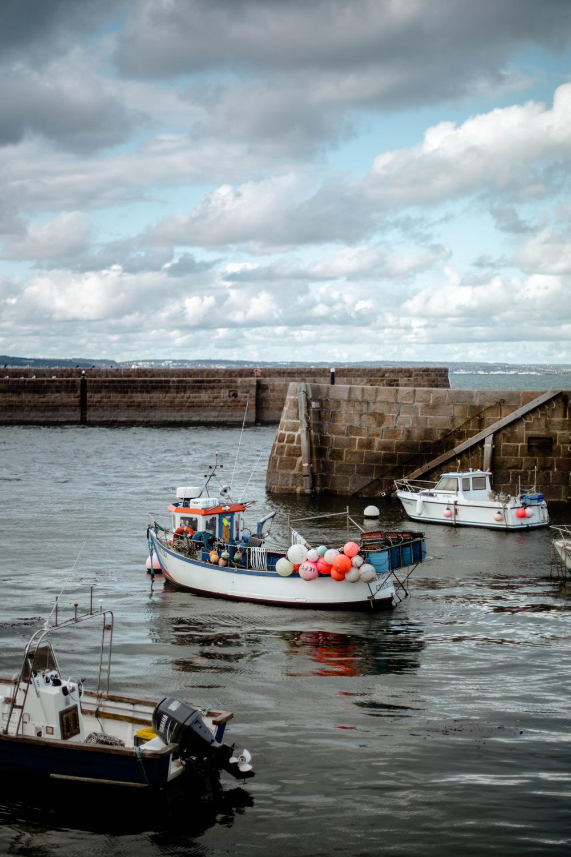 port du Cap Lévi dans le Cotentin