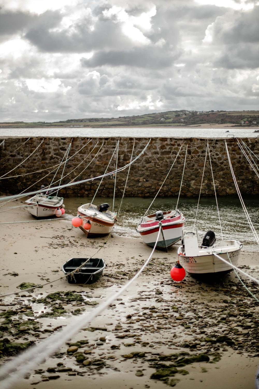port racine à marée basse
