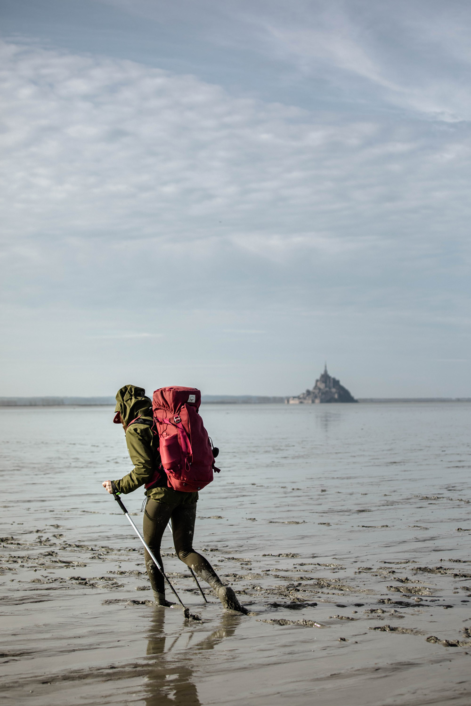 tour du Cotentin pour rejoindre le Mont-Saint-Michel