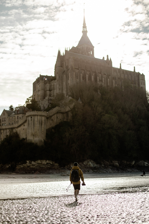 traverser baie Mont-Saint-Michel lors des grandes marées