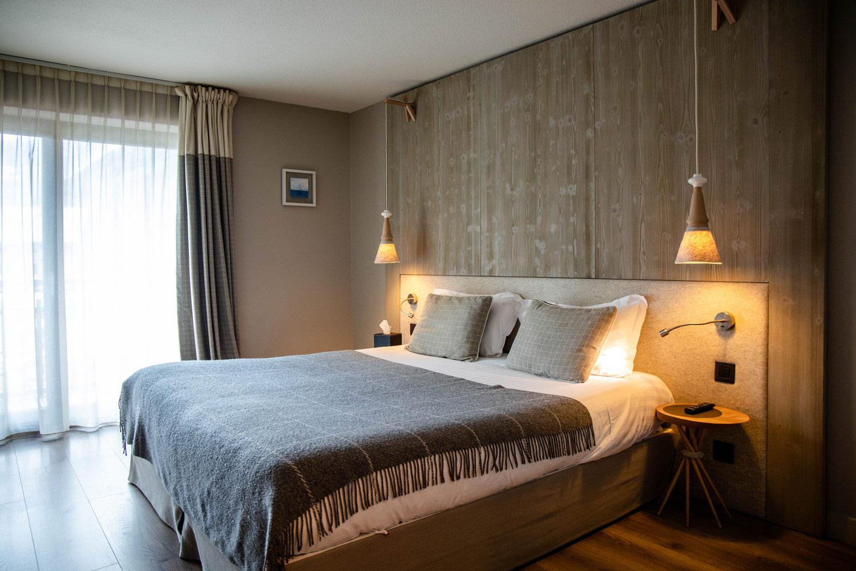 chambre heliopic hotel spa Chamonix
