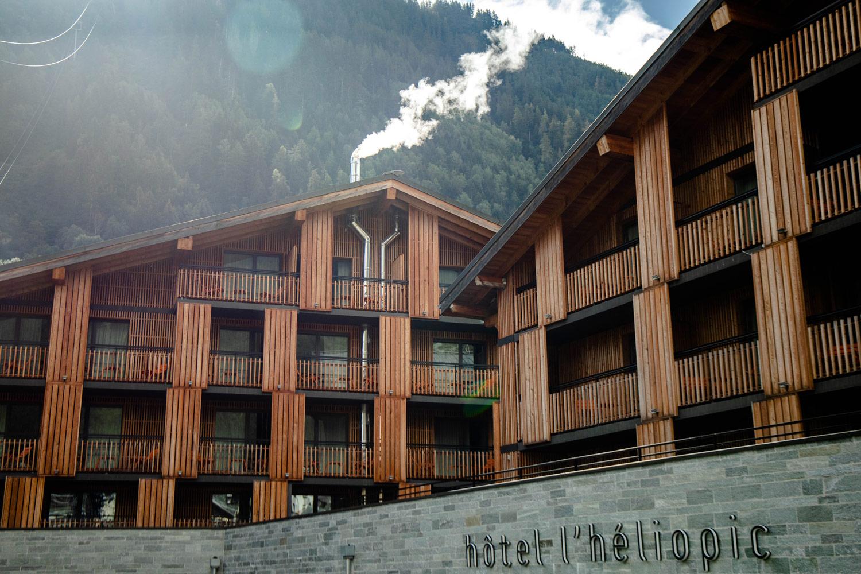 heliopic hotel spa Chamonix