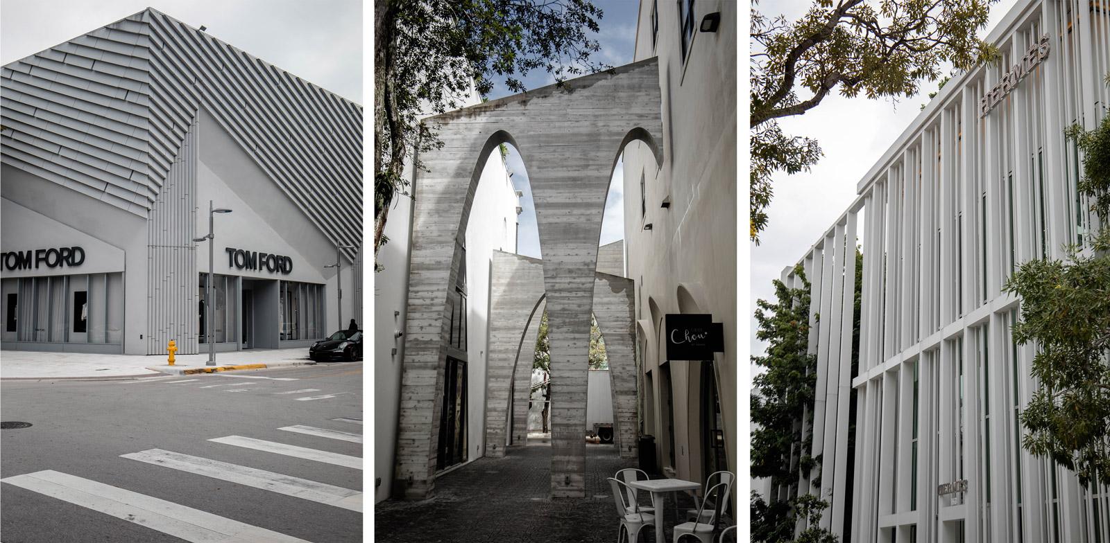architecture quartier Miami design district