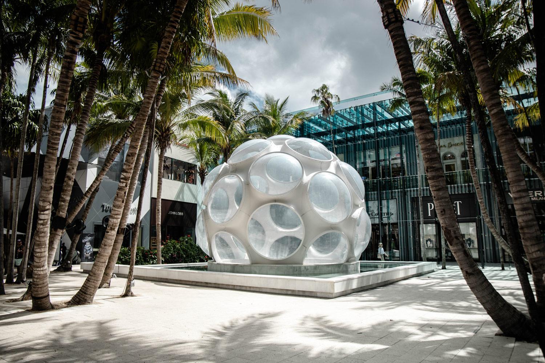 fly's eye dome buckminster fuller design district