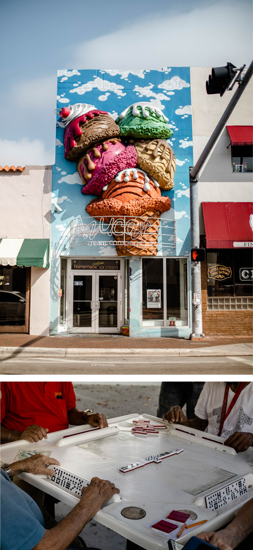 le quartier cubain de little havana à Miami