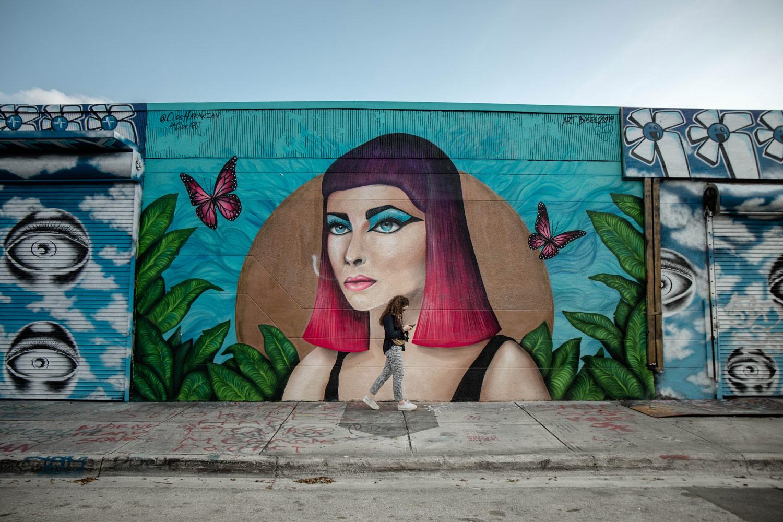 parcours street art quartier Wynwood Miami