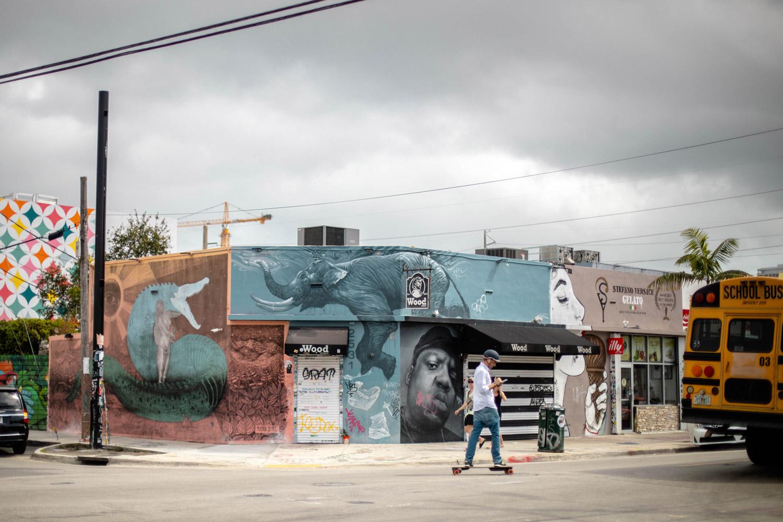 quartier street art de Wynwood à Miami