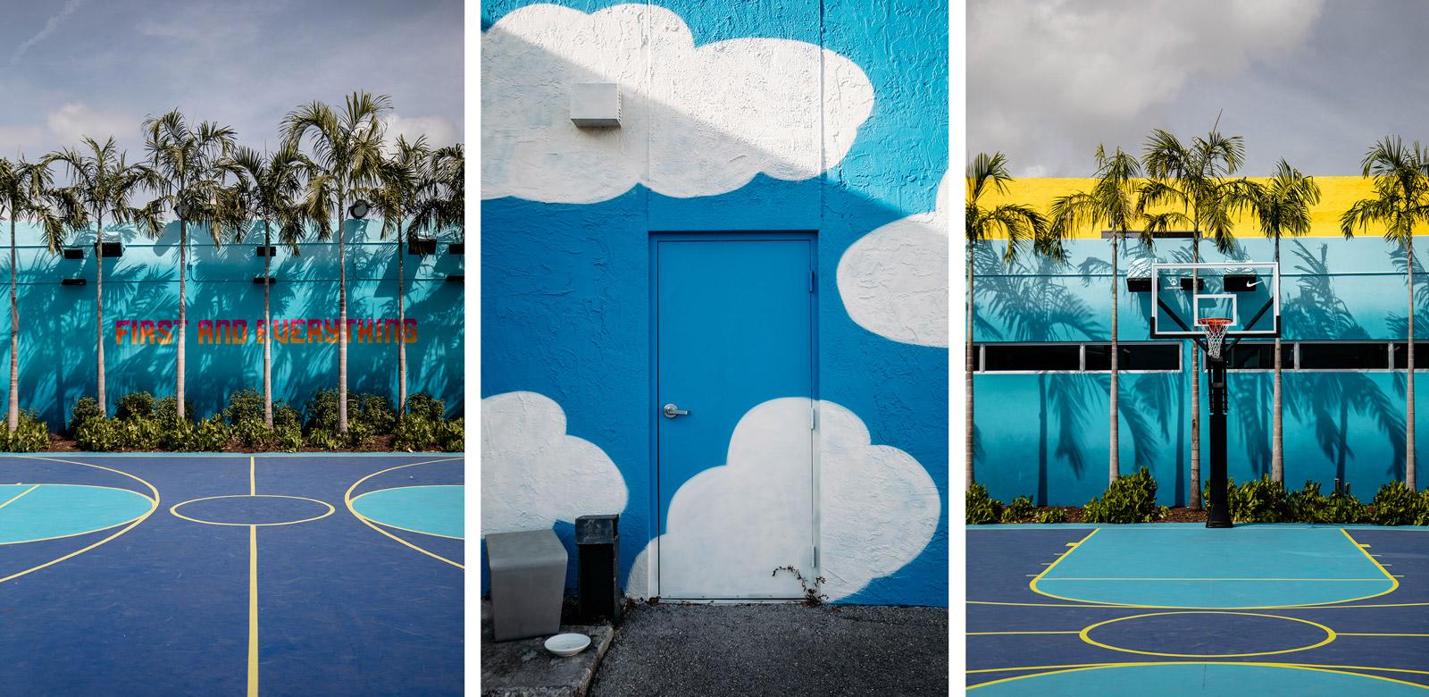 terrain basket coloré de Wynwood