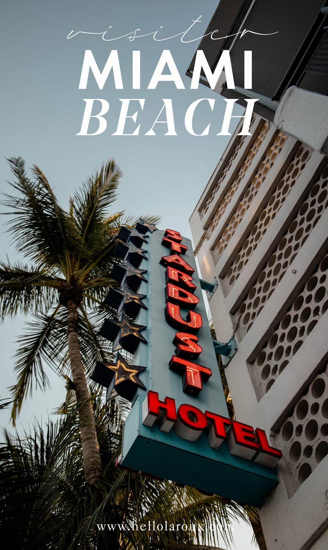 visiter Miami beach blog