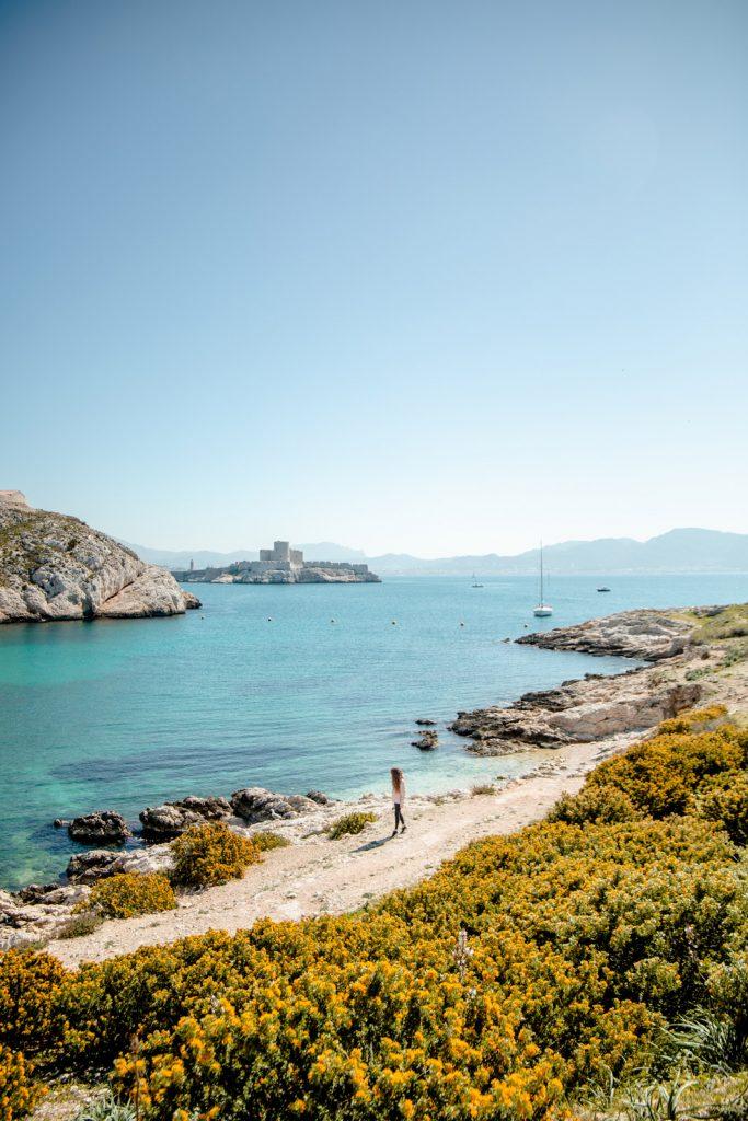 visiter les iles du frioul à Marseille