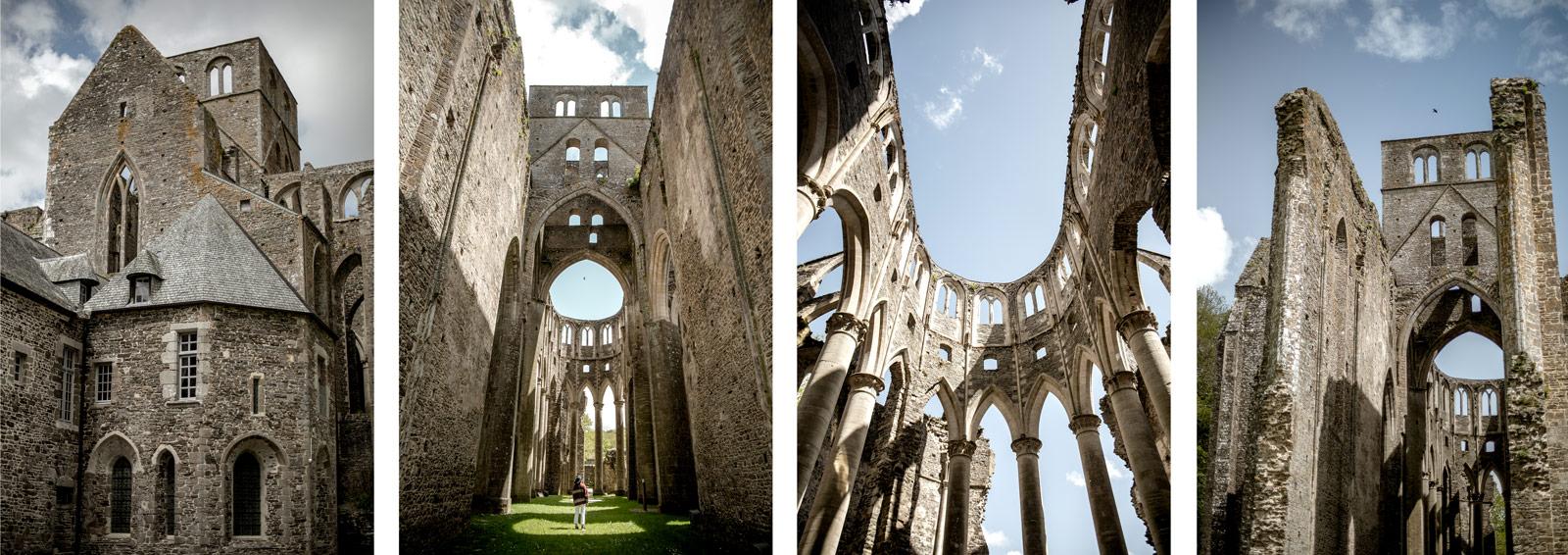 abbaye Hambye Coutances et son architecture gothique