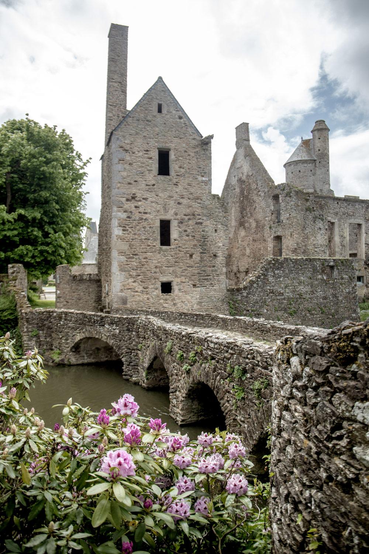 chateau de gratot en normandie