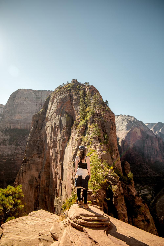 conseil pour la rando angels landing zion national park
