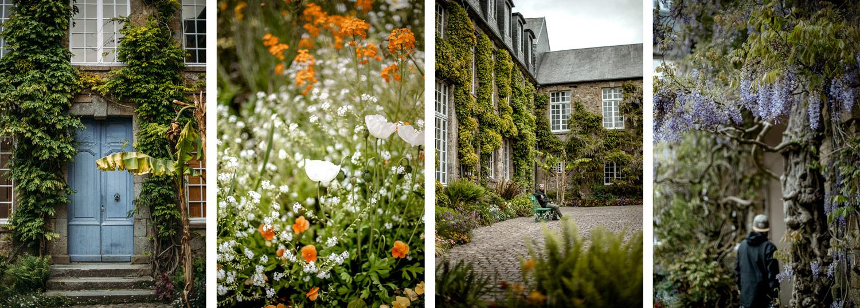 le jardin des plantes de Coutances