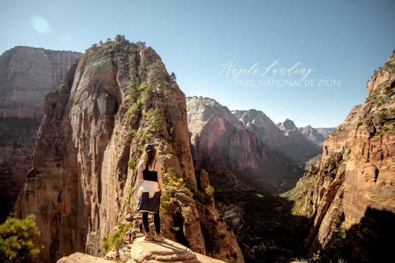 Angels Landing trail — la randonnée vertigineuse de Zion