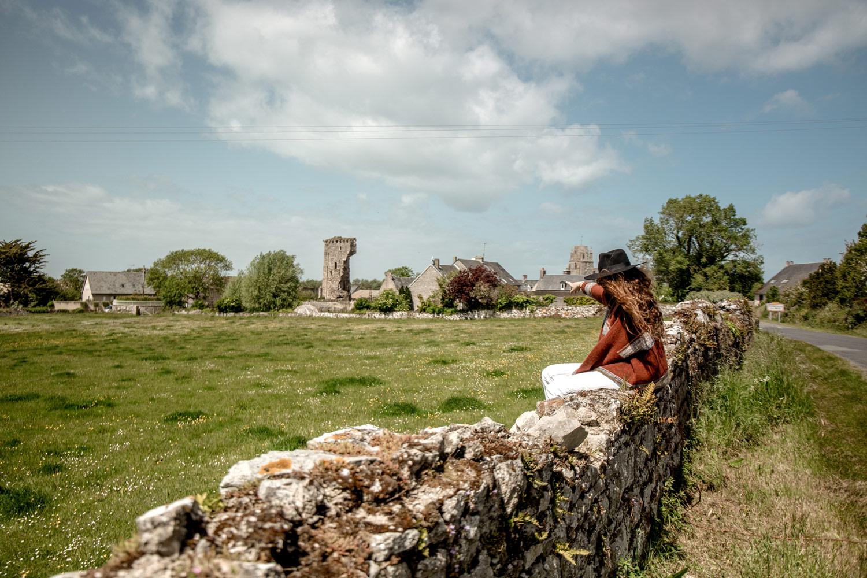 regnéville-sur-mer joli village de Normandie
