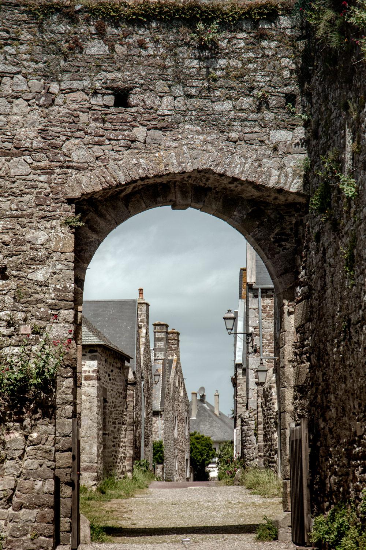 ruelle typique normande à Régneville