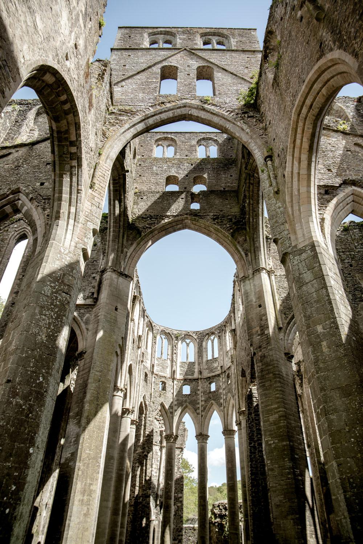 visiter l'abbaye de Hambye près de Coutances