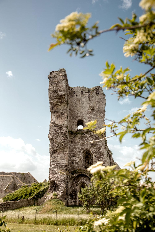visiter le chateau de Regnéville monument historique