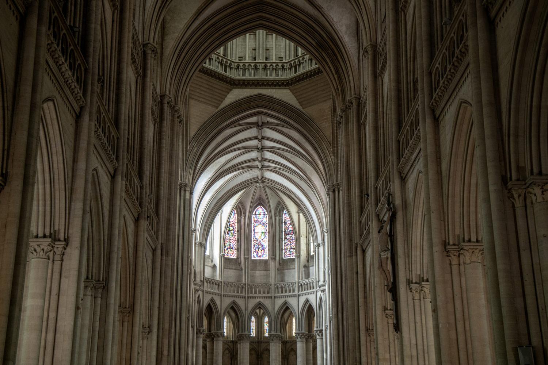 visitier la Cathédrale de Coutances en Normandie