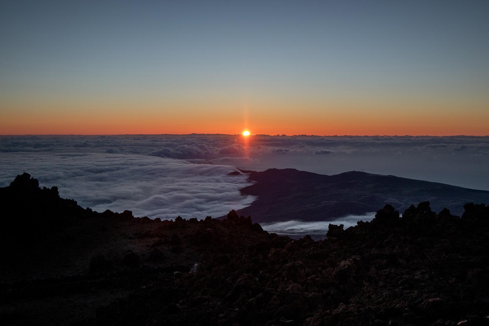 assister au lever de soleil au sommet du teide