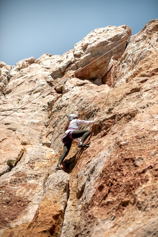 cours d'escalade au parc national du teide