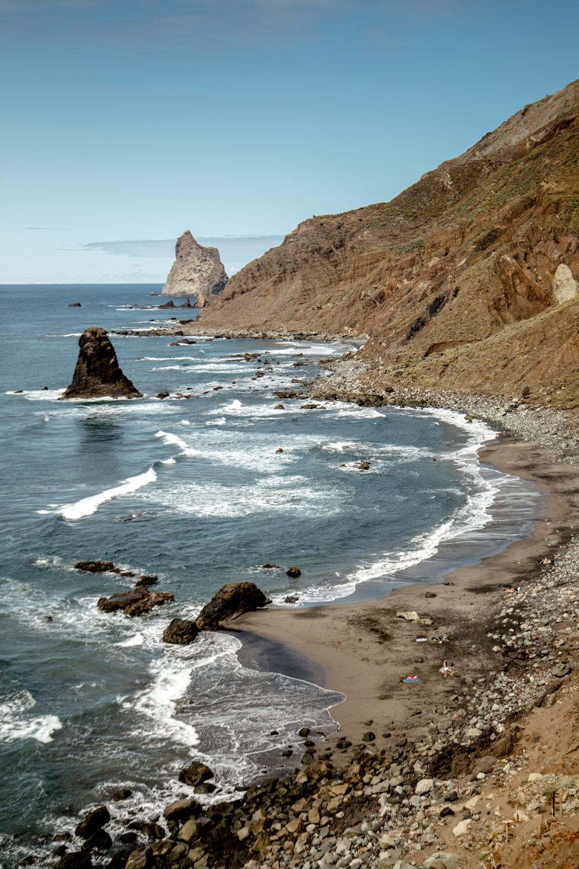 la plage de Benijo