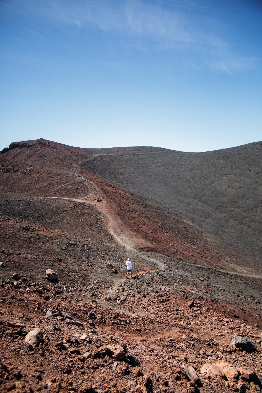 paysage lunaire sentier samara Tenerife