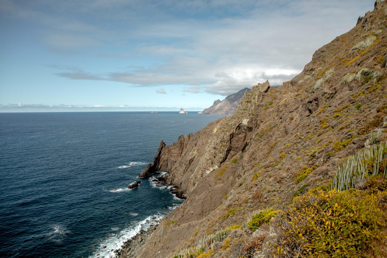 paysages anaga accessibles uniquement en randonnée