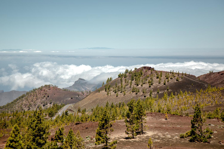 paysages de la randonnée samara Tenerife
