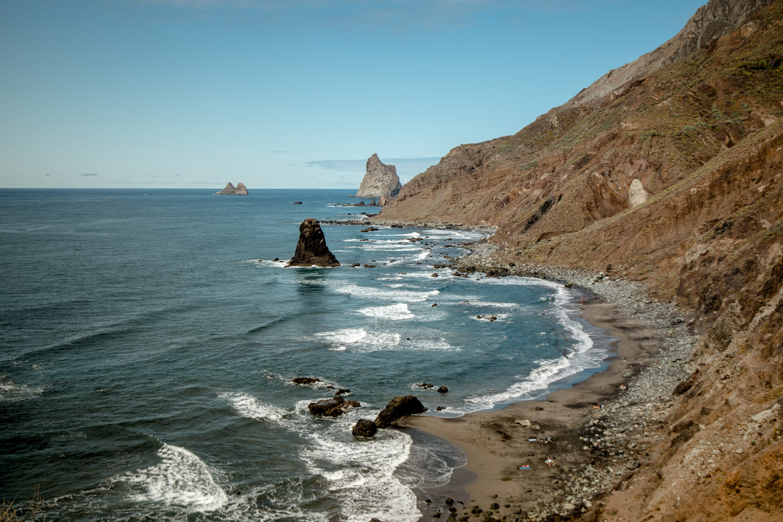 plage de benijo plus belle plage de tenerife
