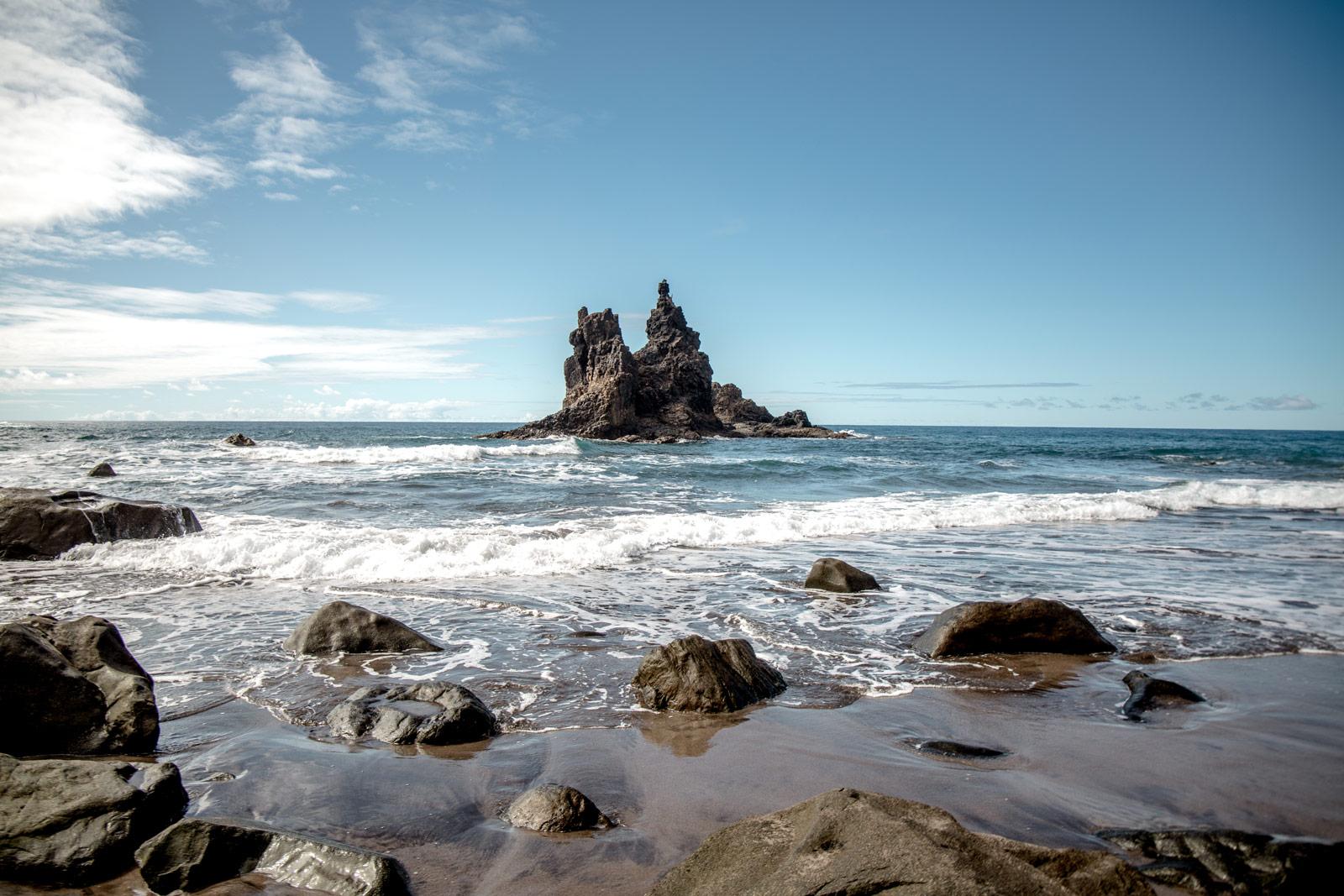 plage sable noir benijo Tenerife