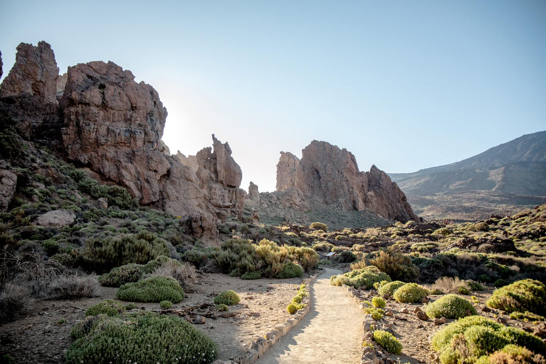 rando Roques de Garcia Teide