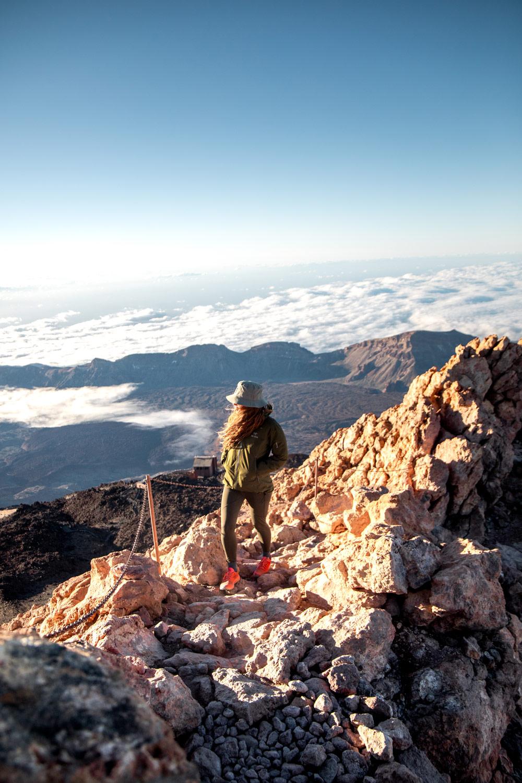 randonnée du teide à Tenerife